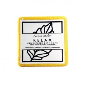 Canna Magic Handmade 100mg CBD Bath Bombs - Flavour: Relax